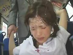 China abusada en el bus