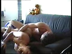 Hot couple amateur homemade video