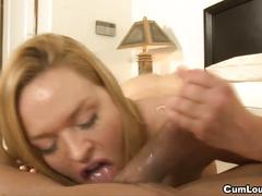 Hd krissy lynn is horny loves sucking a big cock