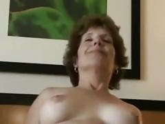 Hot fuck #28 (brunette short haired granny with her lover)