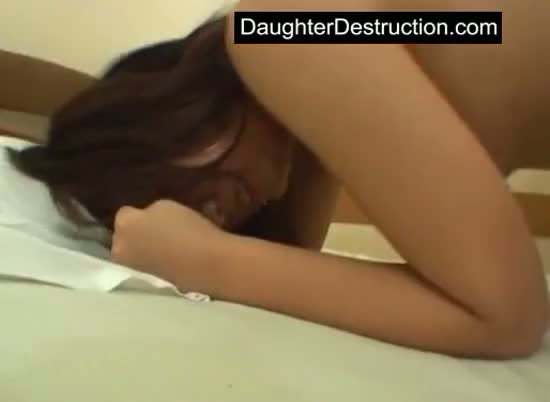 Latin japanese daughter pounded good