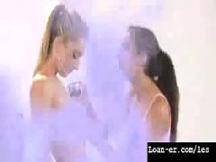 Teen amateur lesbians oil orgy - hot! part 1