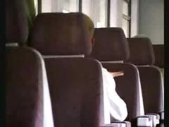 Girlfriend masturbates for you on train - part 1