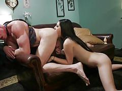 tranny, anal, brunette, cock sucking, handjob, rimjob, domination, from behind, buttplug, ts seduction, kink, chanel santini, pierce paris