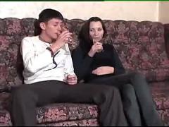Romanian young couple fucking