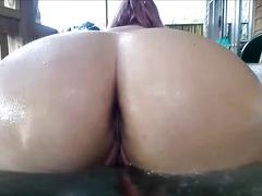 Bubble butt bbw - hot tub fun (pls comment)