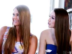 Lola foxx, aubrey star, charlotte stokely and abby cross