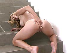 Ryan ryans is happy to play with her pussy alone