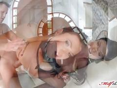 Milfthing ania kinski gets her ass banged to end in facial cumshot