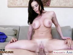 Busty brunette kendra lust fucking