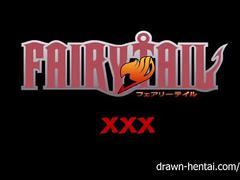 Fairy tail xxx - natsu and erza