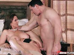 Julia ann gets pounded by huge meatpole