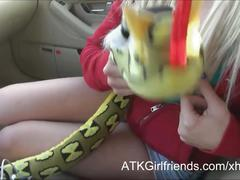A pov date w stevie shae leaves a load of cum in her mouth