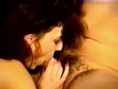 Big boobs vintage long nails vid