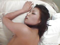 A sexy pov creampie with a hot japanese chick