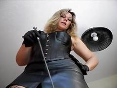 German milf femdom humilate you  pov