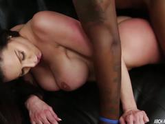 Kendra lust fucked by bbc and cummed on