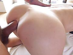 Sexy babe brooke logan with a cock up her ass