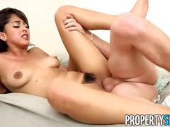 Propertysex - super hot latina fucks landlord at rental showing