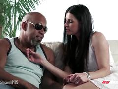 big dick, creampie, interracial, milf, mother, newsensations, mom, big-cock, bbc, huge-cock, big-black-dick, brunette, small-tits, squirting, trimmed, reverse-cowgirl, doggy-style