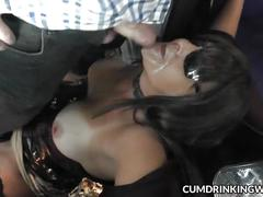 Slutwife fucked by multiple strangers at the car parks