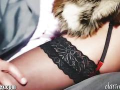 stockings, cumshot, blowjob, brunette, doggystyle, lingerie, pussy-licking, pantyhose, erotic, euro, big-tits, big-boobs