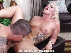 Cali carter bj with huge facial