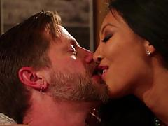 Hot asian wife asa akira gets her final fucking