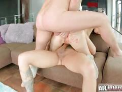 All internal both holes get filled with white cum