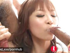 Japan hd sexy misa sucks off two japanese cocks