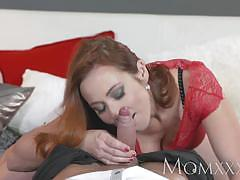 Randy redhead gets her pussy nailed