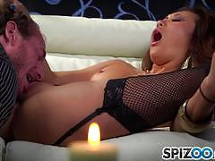 Pounded pussy for sweet asian angel alina li
