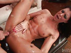 Miss summer brings the showers @ squirt city sluts
