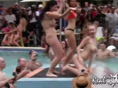 Real wild girls wet pussy contest pt.1