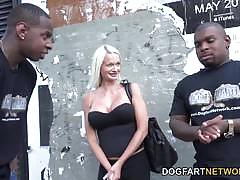 Dp by two huge black dicks