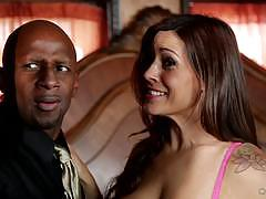 Raylene is interracially fucked in front of her husband