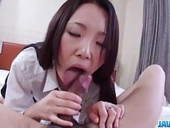Amateur brunette gets her pussy nailed