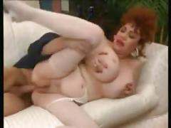 Mature woman with a young boy (15)
