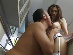 babe, japanese, big boobs, lingerie, brunette, censored, in kitchen, boob rubbing, sexy lingerie, erito av stars, erito, julia xx