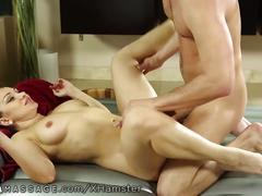 Nurumassage romanian milf loves cock