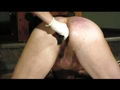 Juicy mistress fooling around with an older slave
