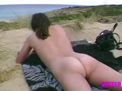 Hidden cam mallorca mit haariger fotze