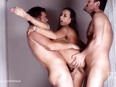 bondage, brunette, threesome, double penetration, czech, houseoftaboo, small-tits, bdsm, dp, ass-fuck, blowjob, anal-sex, double-penetration, ass-to-mouth, cum-in-mouth, anal-creampie, ass-gape, doggy-style, cowgirl, orgasm