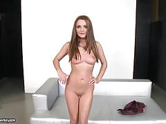 dominica phoenix, brunette, blowjob, anal, shaved, heels, bent over, one on one, shaved pussy, ass fuck, cock suck, licking pussy, ass fucking, dick suck