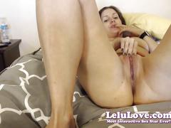 Lelu love-webcam: nyc trip recap vibrator pussy closeups