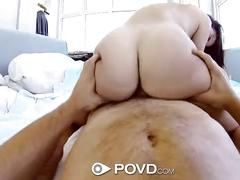 Dillion harper shows her bf how she cums with her toys - povd