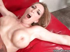 Busty milf savannah jane gets picked up from the mall for a fuck fest
