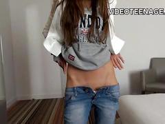 European teen sexy casting