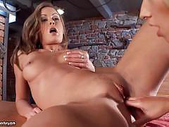 21 sextury dildo and pussy fun with two gorgeo...