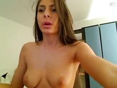 Hot chick from hungary shows her stunning body
